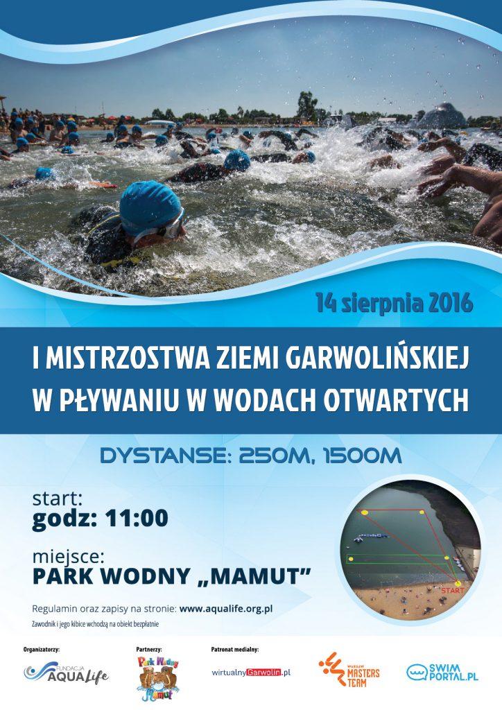 I Mistrzostwa Ziemi Garwolińskiej w pływaniu na wodach otwartych