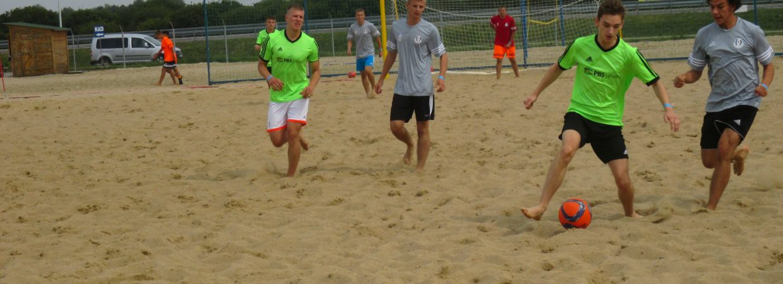 Rozgrywki beach soccer