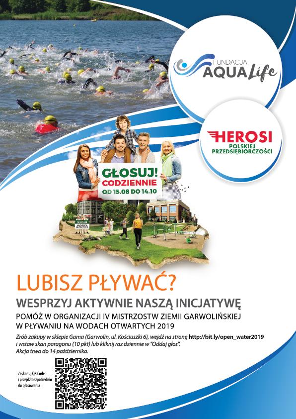 Organizacja IV Mistrzostw Ziemi Garwolińskiej w pływaniu na wodach otwartych