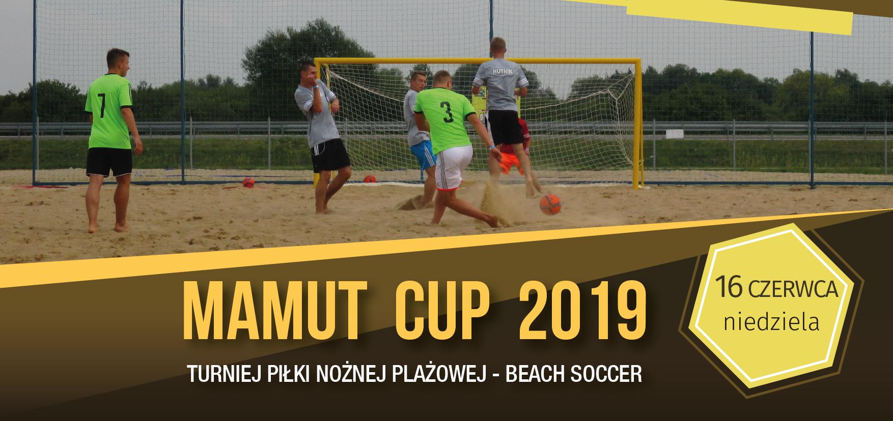 MAMUT CUP 2019 – nowy termin turnieju